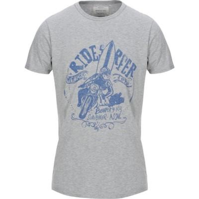 バワリー BOWERY メンズ Tシャツ トップス T-Shirt Grey