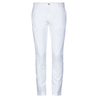 BE ABLE パンツ ホワイト 34 コットン 98% / ポリウレタン 2% パンツ