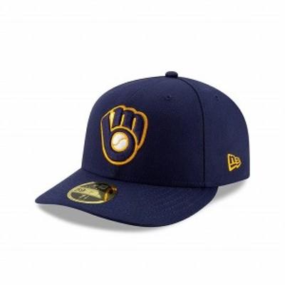 ニューエラ(NEW ERA) LP 59FIFTY MLBオンフィールド ミルウォーキー・ブリュワーズ ホーム 12506591