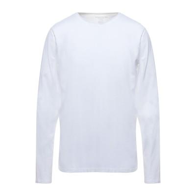 マジェスティック MAJESTIC FILATURES T シャツ ホワイト XXL コットン 94% / ポリウレタン 6% T シャツ