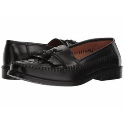 Deer Stags デアスタッグズ メンズ 男性用 シューズ 靴 ローファー Herman Tassel Loafer Jet Black Simulated Leather【送料無料】