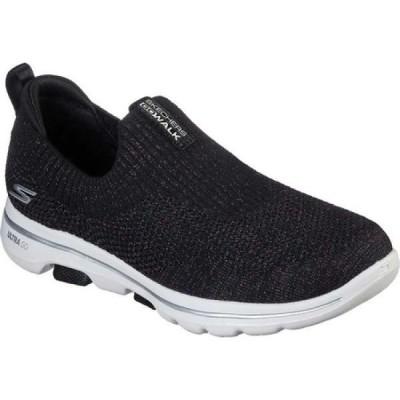 スケッチャーズ Skechers レディース スリッポン・フラット シューズ・靴 GOwalk 5 Sparkly Slip-On Black/Multi