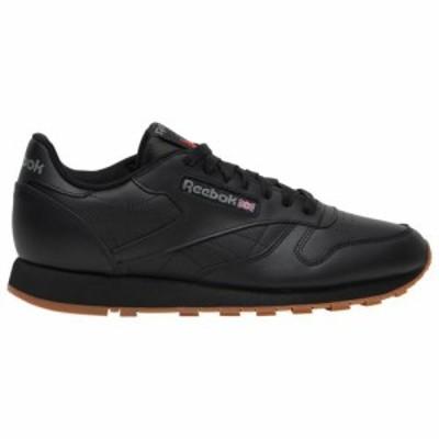 (取寄)リーボック メンズ シューズ クラシック レザー Reebok Men's Shoes Classic Leather Black Gum 送料無料