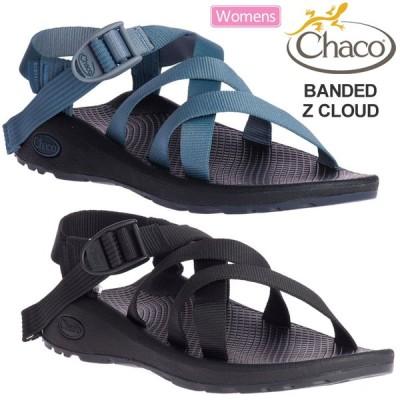 チャコ Chaco サンダル レディース ウィメンズ バンディッドZクラウド ブラック ミラージウィンズ 22-25cm WS BANDED Z CLOUD 12365272