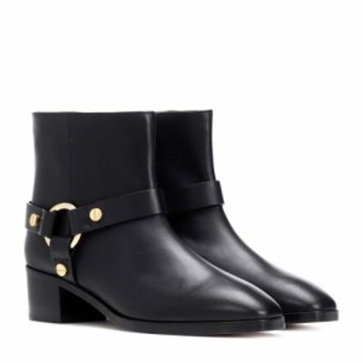 スチュアート ワイツマン Stuart Weitzman レディース ブーツ ショートブーツ シューズ・靴 Expert leather ankle boots Black