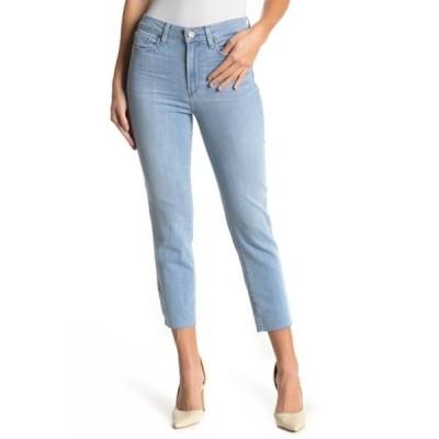 ペイジ レディース デニムパンツ ボトムス Hoxton Raw Crop Slim Jeans ICICLE DISTRESSED