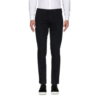 アントレ アミ ENTRE AMIS パンツ ブラック 38 コットン 97% / ポリウレタン 3% パンツ
