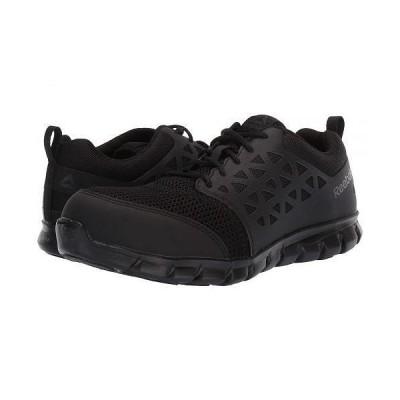Reebok Work リーボック メンズ 男性用 シューズ 靴 スニーカー 運動靴 Sublite Cushion Work Comp Toe ESD - Black