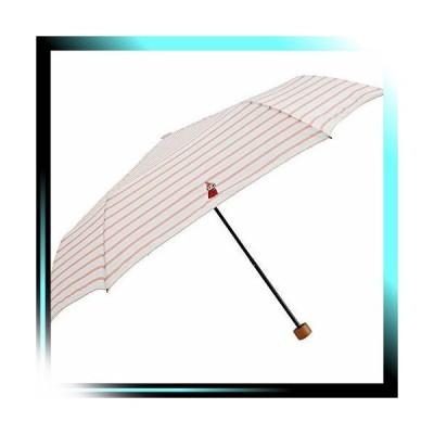 01 リトルミイ/ボーダ-PK/折りたたみ傘 折りたたみ 晴雨兼用ワン