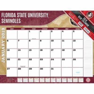 John F. Turner ジョン エフ ターナー スポーツ用品  Florida State Seminoles 2019 22 x 17 Desk Calendar