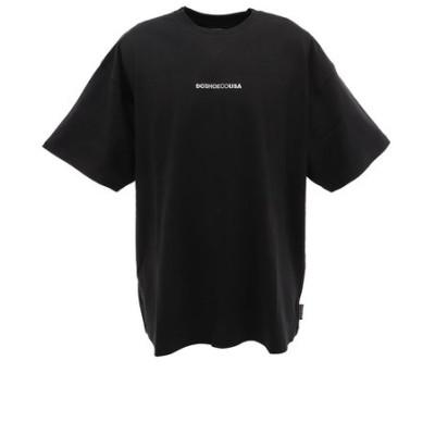 ディーシー・シュー(DC SHOE)Tシャツ メンズ 半袖 バックテープ 20SP5126J032BLK カットソー