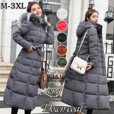 ダウンコート レディース  ロング おしゃれ 人気 高級 フード付き 40代 50代 30代 セール おすすめ 暖かい 安い もこもこ  韓国 きれい