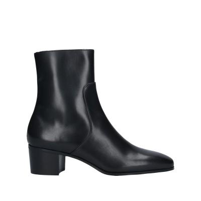 ALUMNAE ショートブーツ ブラック 36.5 牛革(カーフ) ショートブーツ