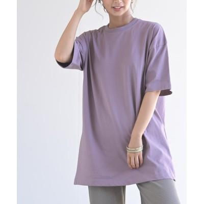 rps / backスリット入りゆるプルオーバー WOMEN トップス > Tシャツ/カットソー