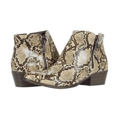 UNIONBAY ユニオンベイ レディース 女性用 シューズ 靴 ブーツ アンクル ショートブーツ Tabby - Natural Snake