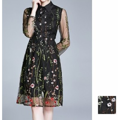韓国 ファッション レディース ワンピース パーティードレス ひざ丈 ミディアム 夏 春 パーティー ブライダル naloI332 結婚式 お呼ばれ