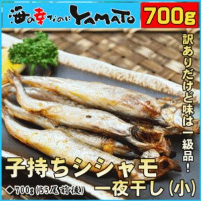 【賞味期限2020年3月31日】訳あり 子持ちシシャモ(小) 一夜干し 700g 約55尾前後入 ししゃも 柳葉魚 干物