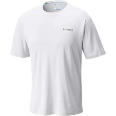 コロンビア メンズ Tシャツ トップス Columbia Men's PFG Zero Rules SS Shirt White