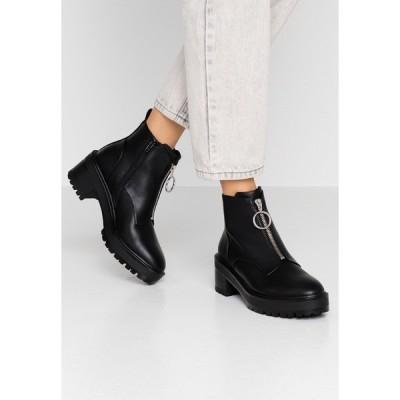 エブンアンドオッド ブーツ&レインブーツ レディース シューズ Ankle boots - black