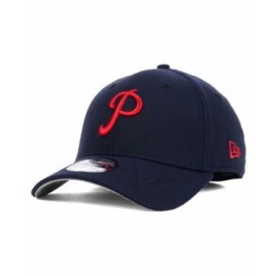 ニューエラ メンズ 帽子 アクセサリー Philadelphia Phillies Core Classic 39THIRTY Cap Navy