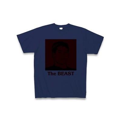 野獣先輩・The BEAST Tシャツ(ジャパンブルー)