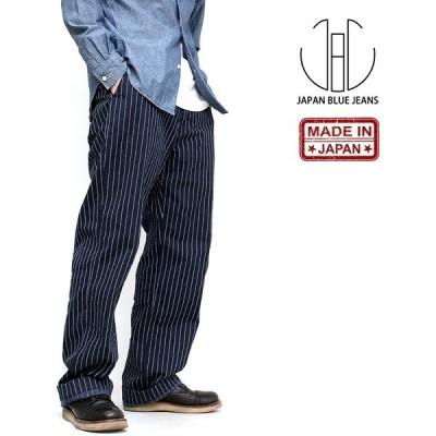 ジャパンブルージーンズ[JAPAN BLUE JEANS] 「オールドヒッコリーストライプ ブルックリントラウザー」 (62-j2424j02)