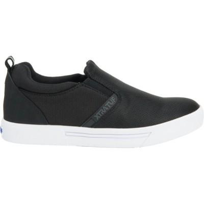 エクストラタフ スニーカー シューズ レディース XTRATUF Women's Topwater Slip-On Casual Shoes Black