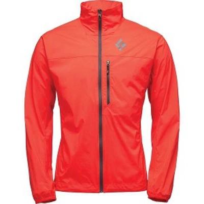 ブラックダイヤモンド メンズ ジャケット・ブルゾン アウター Black Diamond Men's Alpine Start Jacket Hyper Red