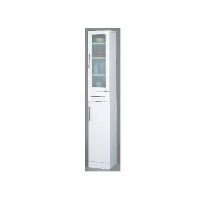 食器棚 おしゃれ 幅60cm 高さ180cm スリム ガラス扉 キッチンボード キャビネット キッチン収納