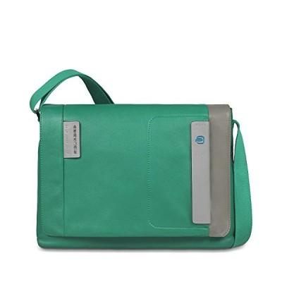 Piquadro CA3348P15/VGR Messenger Bag, Pulse, Green/Grey, 37 cm 並行輸入品