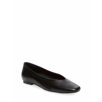 メイデンレーン レディース フラットシューズ Kaito Leather Ballet Flats