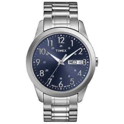 Timex タイメックス メンズ T2M933 Elevated Classics ドレス ステンレス スチール Expansion バンド 腕時計