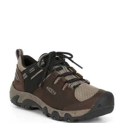 キーン メンズ スニーカー シューズ Men's Steens Vent Leather Low Hiking Shoes