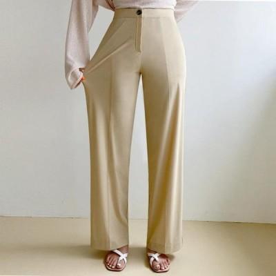 ENVYLOOK レディース パンツ World comfortable wide summer slacks #even in summer #cool 200%