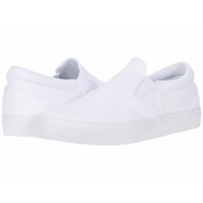 Nike SB ナイキ メンズ 男性用 シューズ 靴 スニーカー 運動靴 Charge Slip White/White/White/Black【送料無料】