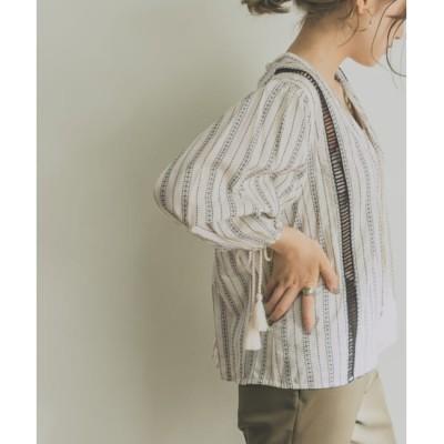 【アーバンリサーチ/URBAN RESEARCH】 UR BY MALENE BIRGER FIGNE shirts Pull over