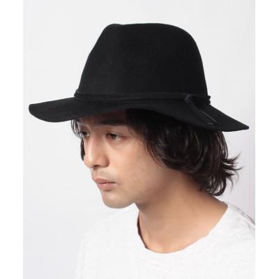 【ベーセーストック】 INHERIT FELT HAT (LETHER CODE) メンズ ブラック フリー B.C STOCK