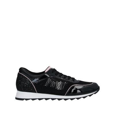 トスカブルー TOSCA BLU スニーカー&テニスシューズ(ローカット) ブラック 37 紡績繊維 スニーカー&テニスシューズ(ローカット)