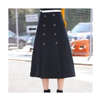 秋新作 スカート ロングスカート大きいサイズ ロングスカート秋冬 ロングスカート秋 ロングスカート冬 スカート トレンチ トレンチスカート