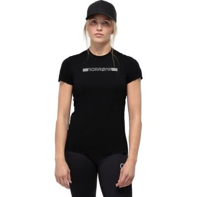 ノローナ Norrona レディース ハイキング・登山 Tシャツ トップス Bitihorn Tech T - Shirt Caviar