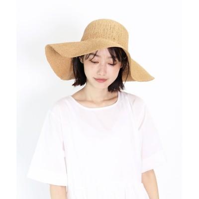 salle de bal / ペーパーつば広ハット FINE HAT WOMEN 帽子 > ハット