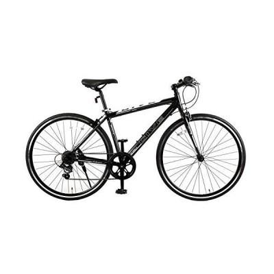 スピードワールド(SPEED WORLD) クロスバイク9.0 7段変速 700*25c 3色 (ブラック)