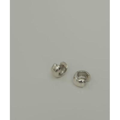 silver925プックリワイドピアス
