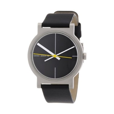 Danish Design Men's Quartz Watch 3314352 with Leather Strap 並行輸入品