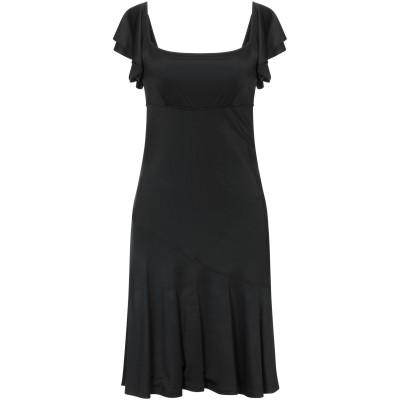 ブルーガール ブルマリン BLUGIRL BLUMARINE ミニワンピース&ドレス ブラック 40 レーヨン 95% / ポリウレタン 5% ミニ