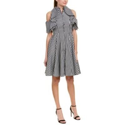 アルトングレイ レディース ワンピース トップス Alton Gray A-Line Dress black/white