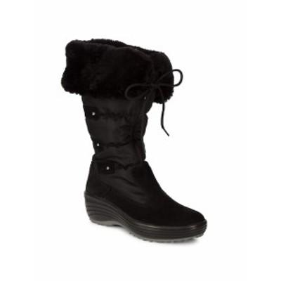 パジャール カナダ レディース シューズ ブーツ Malina Faux-Fur Waterproof Trimmed Boots