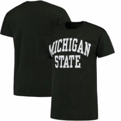 Fanatics Branded ファナティクス ブランド スポーツ用品  Michigan State Spartans Green Basic Arch T-Shirt