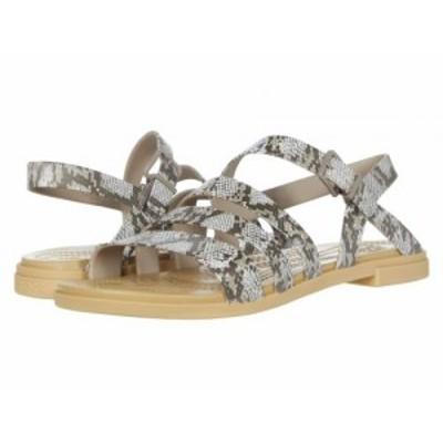 crocs クロックス レディース 女性用 シューズ 靴 サンダル Tulum Sandal Mushroom/Stucco【送料無料】