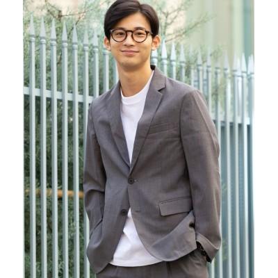 【コーエン】 COOLFIBER(R)テーラードジャケット(セットアップ対応) メンズ MDGRAY SMALL coen